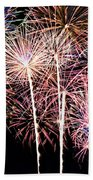 Fireworks Spectacular Beach Towel