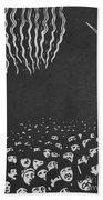 Fireworks, The World's Fair Vi, 1901 Beach Towel