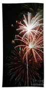 Fireworks6521 Beach Towel