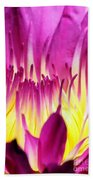 Firey Magenta Beach Towel