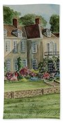 Firle Place England Beach Towel
