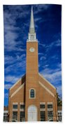 First Congregational Church Beach Towel