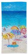 First Day Of Summer Beach Towel
