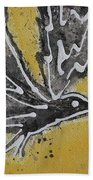 First Flight Original Painting Beach Towel