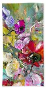 First Flowers Beach Towel