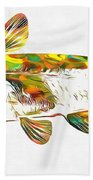 Fish Art Catfish Beach Towel