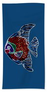 Fish In Water Beach Towel