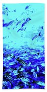 Fish Traffic Beach Towel