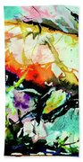 Fish Under Water Beach Towel