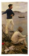 Fisher Boys Falmouth Beach Towel