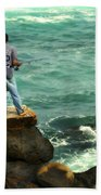 Fisherman Beach Towel