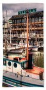 Fisherman's Wharf Beach Towel