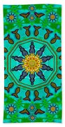 Fishes In Freedom Under The Sun Beach Towel