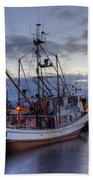 Fishing Fleet Beach Towel