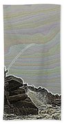Fishing In The Twilight Zone Beach Towel