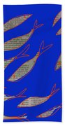 Fishing News Beach Towel