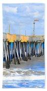 Fishing Pier 4 Beach Towel