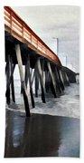 Fishing Pier Beach Towel