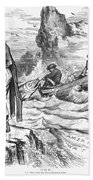 Fishing Rights, 1877 Beach Towel