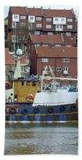 Fishing Trawler - Whitby Beach Towel