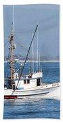 Fishing Vessel Sun Ra Beach Towel