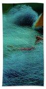 Fishnet Beach Towel by Okan YILMAZ