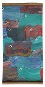 Flag Fish Beach Towel