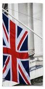 Flag Of Great Britain  Beach Towel