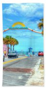 Flagler Avenue Beach Towel