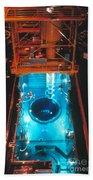 Flamanville Nuclear Power Plant Beach Towel