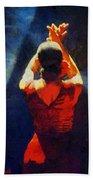 Flamenco Dolores Beach Towel