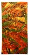 Flamenco Flame - Tile Beach Towel