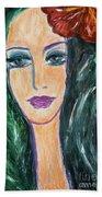 Flamenco Nights - Madalena Beach Towel