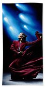 Flamenco Performance Beach Towel by Richard Young