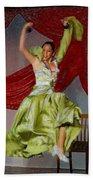 Flamenco Show Nr 2 Beach Towel