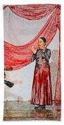 Flamenco Show Nr 4 Beach Towel