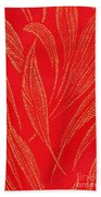 Flamework Beach Towel