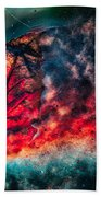 Flaming Fall Color Beach Towel