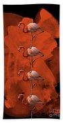 Flamingo Balance - 1 Beach Towel