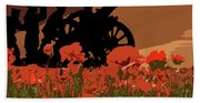 Flanders Fields 1 Beach Towel