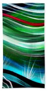 Flashes In Memory. Spring Beach Towel