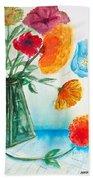 Fleur Primitiv Beach Towel