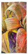 Fleurs De Lys 01 Beach Towel