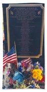 Flight 93 Heros Beach Towel