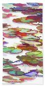 Float On The Water Beach Towel