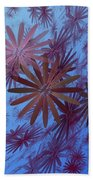 Floating Floral - 001 Beach Towel