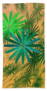 Floating Floral - 004 Beach Towel