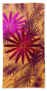 Floating Floral - 005 Beach Towel