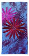 Floating Floral -003 Beach Towel