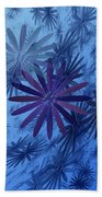 Floating Floral-010 Beach Towel